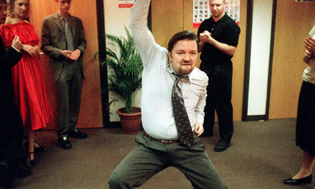David Brent has a questionable working style